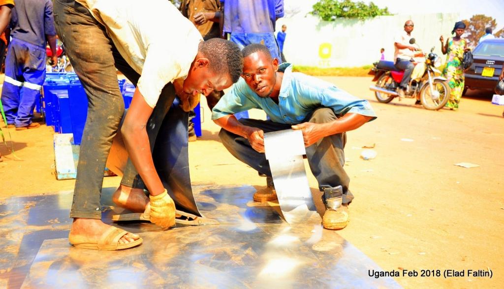 מזוודות פח אוגנדה אפריקה