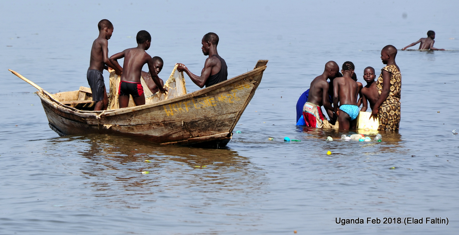 אוגנדה אפריקה דייגים