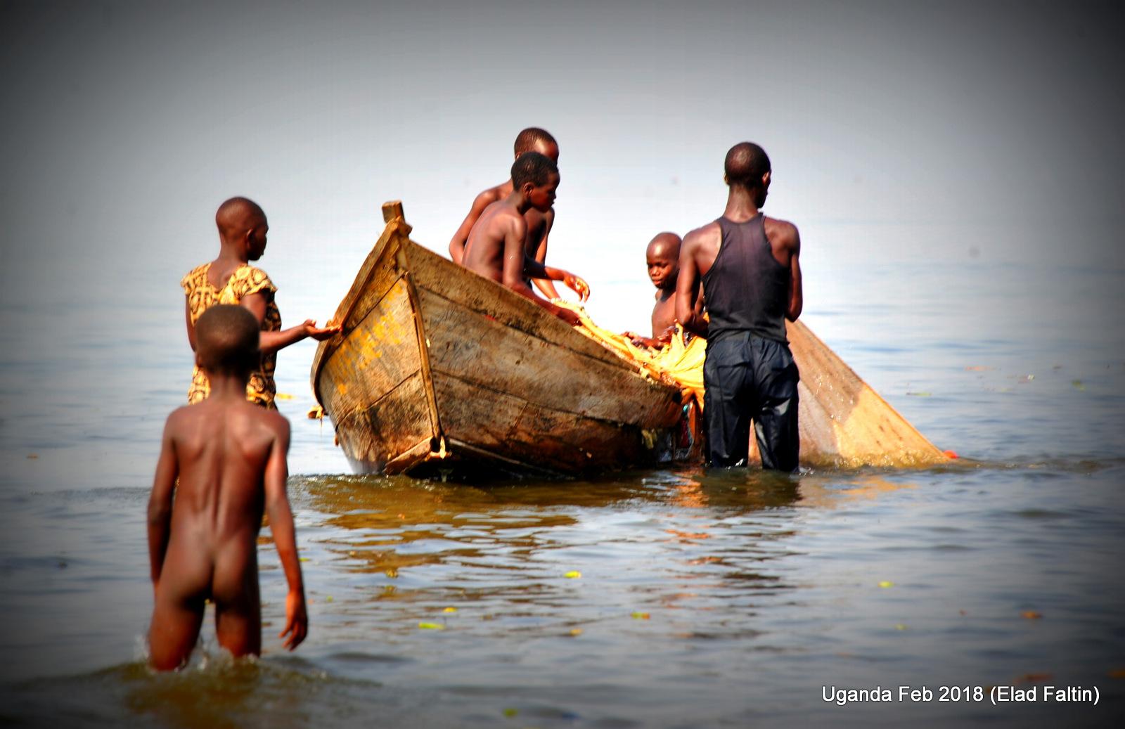 אוגנדה - כפרי הדייגים