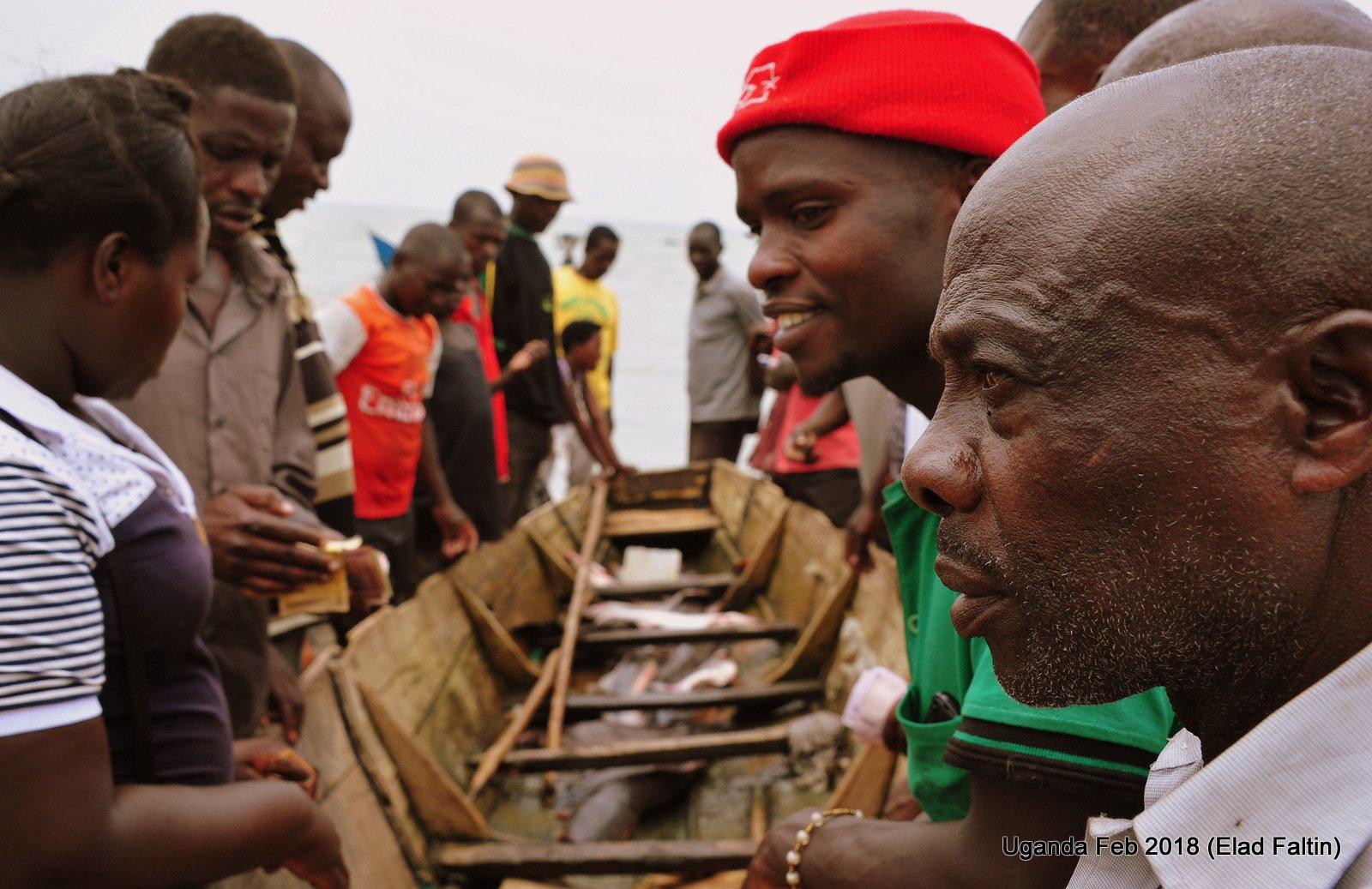 דייגים אוגנדה אפריקה