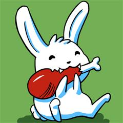 ארנב אוכל בשר1